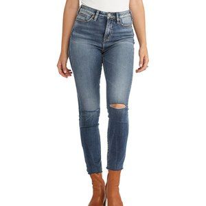 Silver Jeans Robson High Rise Skinny Jegging 27x27